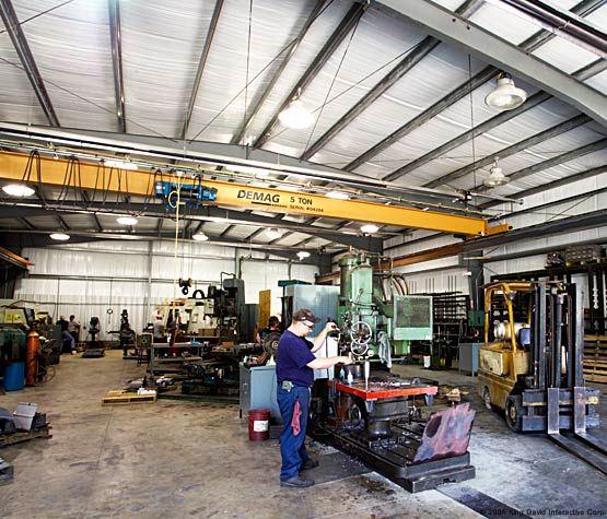 Больше ЛМК в России www.steelbuildings.ru 09G2S Идеальный ангар (конечно же фото сделано в США).