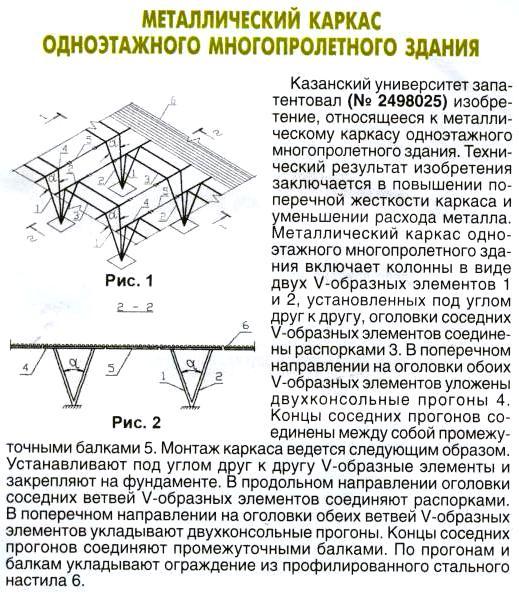 Больше ЛМК в России www.steelbuildings.ru Металлический каркас одноэтажного многопролётного здания.