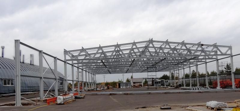 Больше ЛМК в России www.steelbuildings.ru Эксклюзивные (а как ещё?) фото первого полиметаллического каркаса здания в Твери.