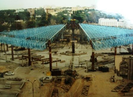 Больше ЛМК в России www.steelbuildings.ru Это строительство рынка в Ташкенте, в котором принимал участие Рустэм Искандэрович: