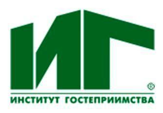 Больше ЛМК в России www.steelbuildings.ru Логотип Института Гостеприимства прямо-таки создан для нашего рынка: и кровля двухскатная, и цвет зелёный: