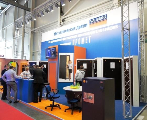Больше ЛМК в России www.steelbuildings.ru BUILDEX / MosBUILD: моё знаковое фото - ПРОМЕТ теперь и двери: