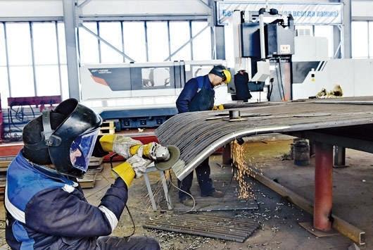 Больше ЛМК в России www.steelbuildings.ru Новый ЗМК заработал в Экибастузе.