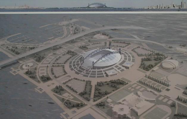 Проект нового стадиона