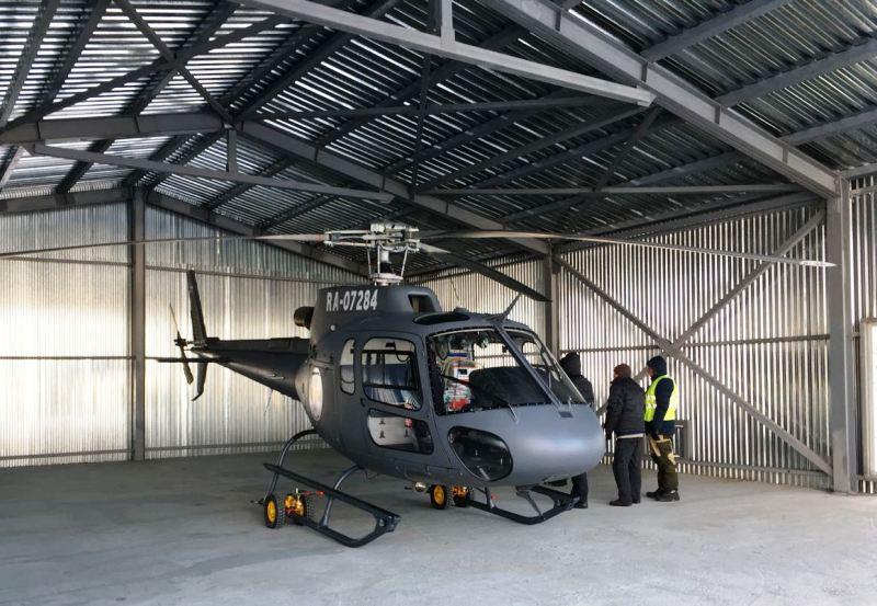 Больше ЛМК в России www.steelbuildings.ru Обратите внимание на этот новый стальной вертолётный ангар.