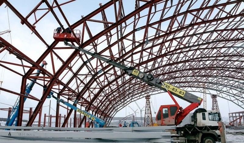 Больше ЛМК в России www.steelbuildings.ru Челябинский ЗМК изготавливает металлоконструкции для новой аглофабрики Магнитогорского Металлургического Комбината (ММК).