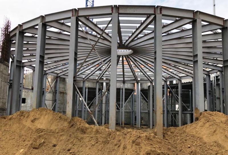 Больше ЛМК в России www.steelbuildings.ru Стальные каркасы помогают строителям избежать разорения?