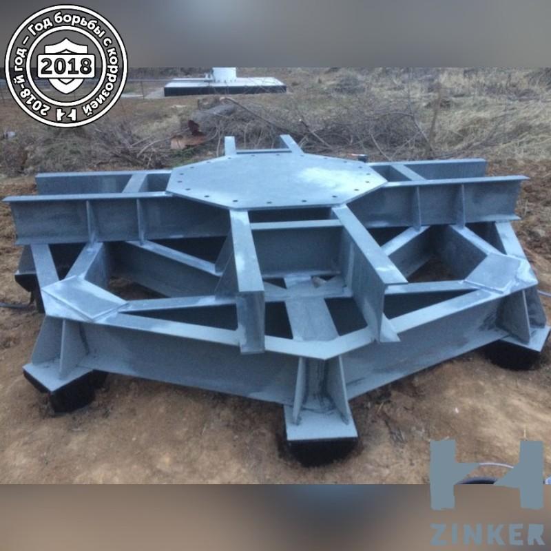 Больше ЛМК в России www.steelbuildings.ru В Обнинске, на улице Королёва (точнее, на улице Королёва, д. 6-А) появилась Цинкированная стальная конструкция: