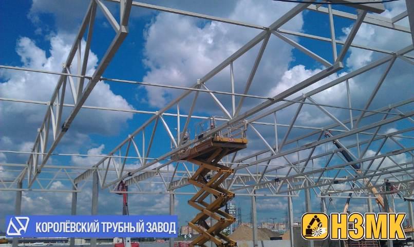 Больше ЛМК в России www.steelbuildings.ru Новинский ЗМК доверяет продукции Королёвского Трубного Завода.