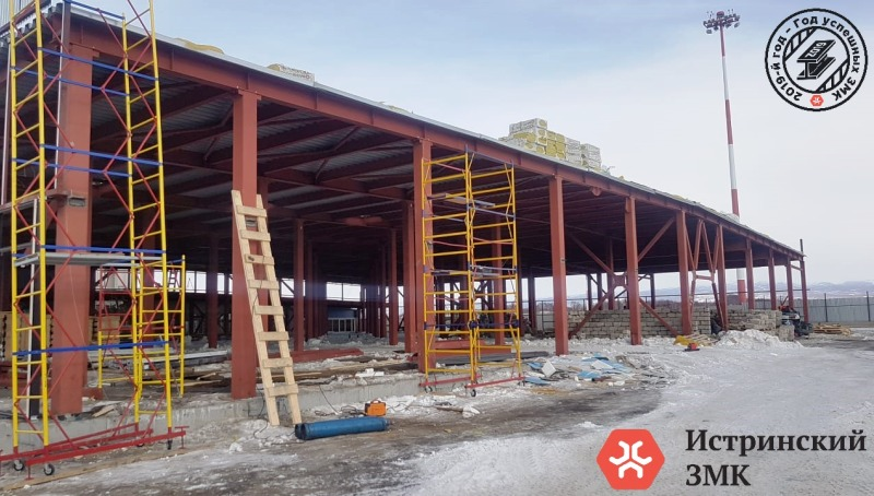 Больше ЛМК в России www.steelbuildings.ru  От Истры до Камчатки лишь на первый взгляд далеко ...