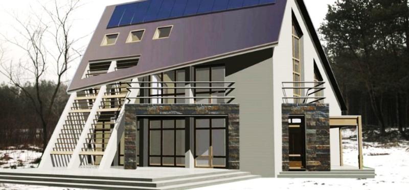 Больше ЛМК в России www.steelbuildings.ru На стальном каркасе будет реализован совместный проект дома от COGI (Италия) и Алтайского Технического Университета.